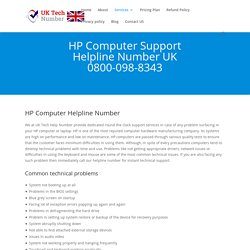 HP Computer 0800-098-8343 Hp Computer Support Phone Number