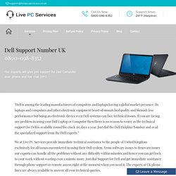 Dell Computer Technical 0800-098-8352 Support Number UK