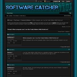 Trade Pattern HWS Portal