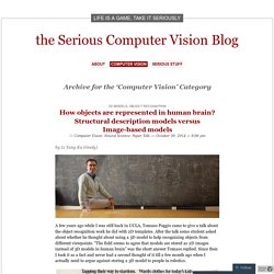 the Serious Computer Vision Blog