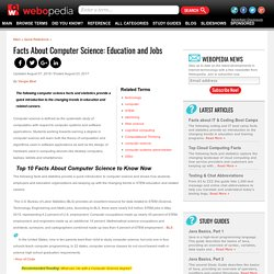 Facts about Computer Science