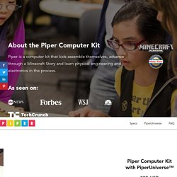 Piper Computer Kit - award winning STEM learning toolbox