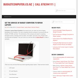 Get The Services of Budget Computers to Repair Laptops