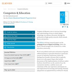 Computers & Education