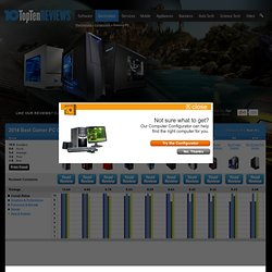 Compare Gamer PCs - TopTenREVIEWS