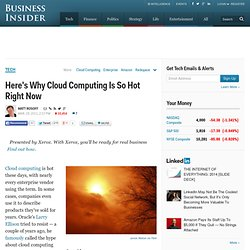 Cloud Computing: Why Businesses Are Embracing It