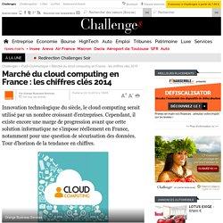 Marché du cloud computing en France : les chiffres clés 2014