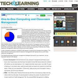 One-to-One Computing and Classroom Management