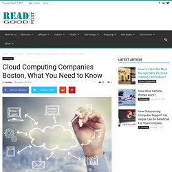 Cloud Computing Companies Boston