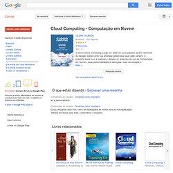 Cloud Computing - Computação em Nuvem - Cezar Taurion