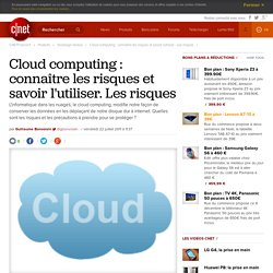 Les risques liés au Cloud Computing