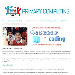 Our Computing curriculum