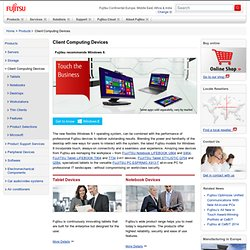 Mobile devices - Product catalog - Fujitsu
