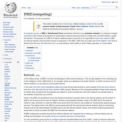 Demilitarized zone (computing)