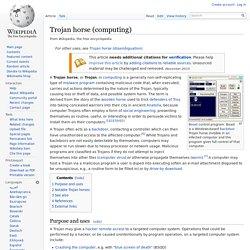 Trojan horse (computing)
