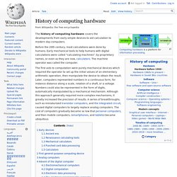 History of computing hardware