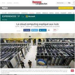 Le cloud computing expliqué aux nuls