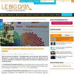 La Cloud Native Computing Foundation compte déjà plus de 400 membres