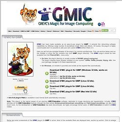 G'MIC - GREYC's Magic Image Converter