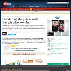Cloud computing : le marché français décolle enfin - ZDNet