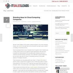 Branding Ideas for Cloud Computing Companies