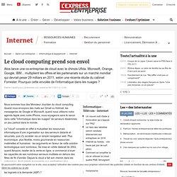 Le cloud computing : un marché mondial de 29 milliards d'euros en 2011