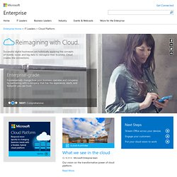 Cloud computing | Microsoft Cloud Services | Cloud | Business solutions