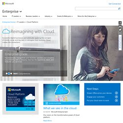 Cloud Development | Multiple language development |Windows Azure