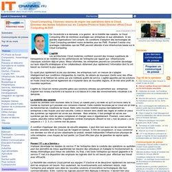 Cloud Computing, 5 bonnes raisons de migrer ses opérations dans le Cloud, Directeur des Ventes Solutions sur les Comptes Privés et Sales Director offres Cloud Computing de Dell