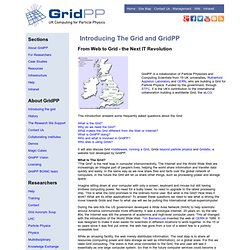 GridPP - UK Computing for Particle Physics