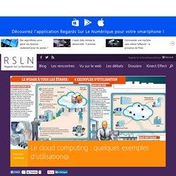 Le cloud computing : quelques exemples d'utilisation