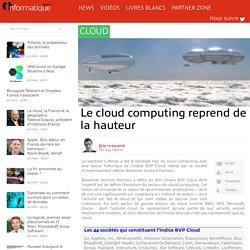 Le cloud computing reprend de la hauteur