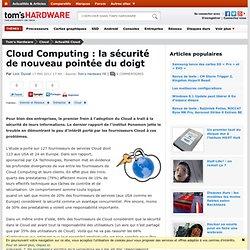 Cloud Computing : la sécurité de nouveau pointée du doigt