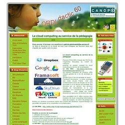 Cloud computing au service de la pédagogie