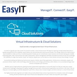 Cloud Computing Services & Solutions in Dublin Ohio - EasyIT