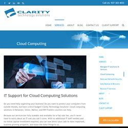 Cloud Computing Solutions & Services Provider