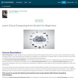 Learn Cloud Computing from Scratch for Beginners: vernonemrit