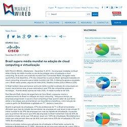 Brasil supera média mundial na adoção de cloud computing e virtualização