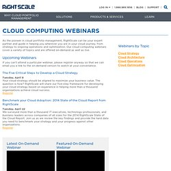 Cloud Computing Management Platform by RightScale