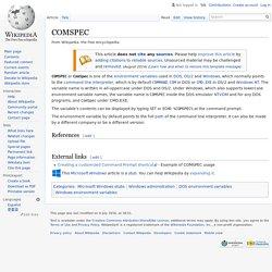 COMSPEC