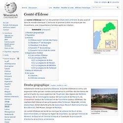 Comté d'Édesse