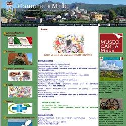 Comune di Mele (GE): Scuole