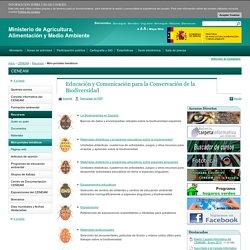 Educación y Comunicación para la Conservación de la Biodiversidad - portales temáticos - Mini - Recursos