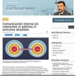 Comunicación interna sin colorantes ni aditivos ni azúcares añadidos - El blog de JM Velasco