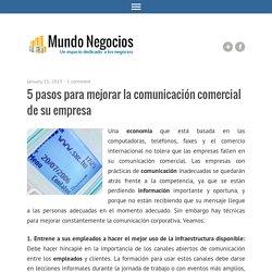 5 pasos para mejorar la comunicación comercial de su empresa