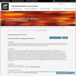 Facultad de Diseño y Comunicación - UP