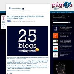 Los 25 blogs de publicidad y comunicación más influyentes de España