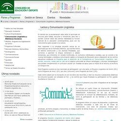 Planes y programas - Lectura y Bibliotecas Escolares - Consejería de Educación