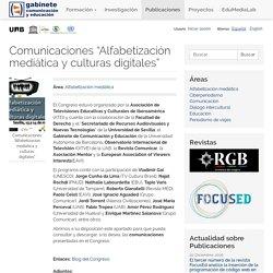 """Comunicaciones """"Alfabetización mediática y culturas digitales"""""""