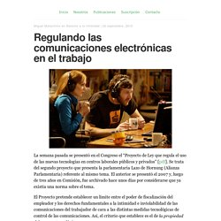 Regulando las comunicaciones electrónicas en el trabajo - Blawyer.org
